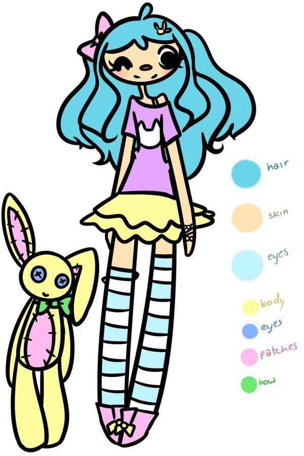 Sasha Blue + Trinket - Ref~