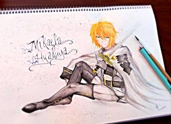 Mikaela Hyakuya -- Owari no Seraph by Junsopheii