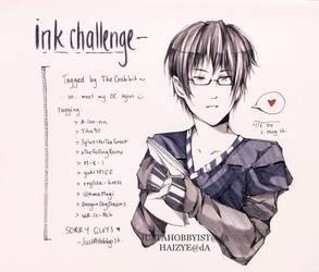 Ink challenge: Hyun by Junsopheii