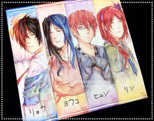 OC bookmarks by Junsopheii