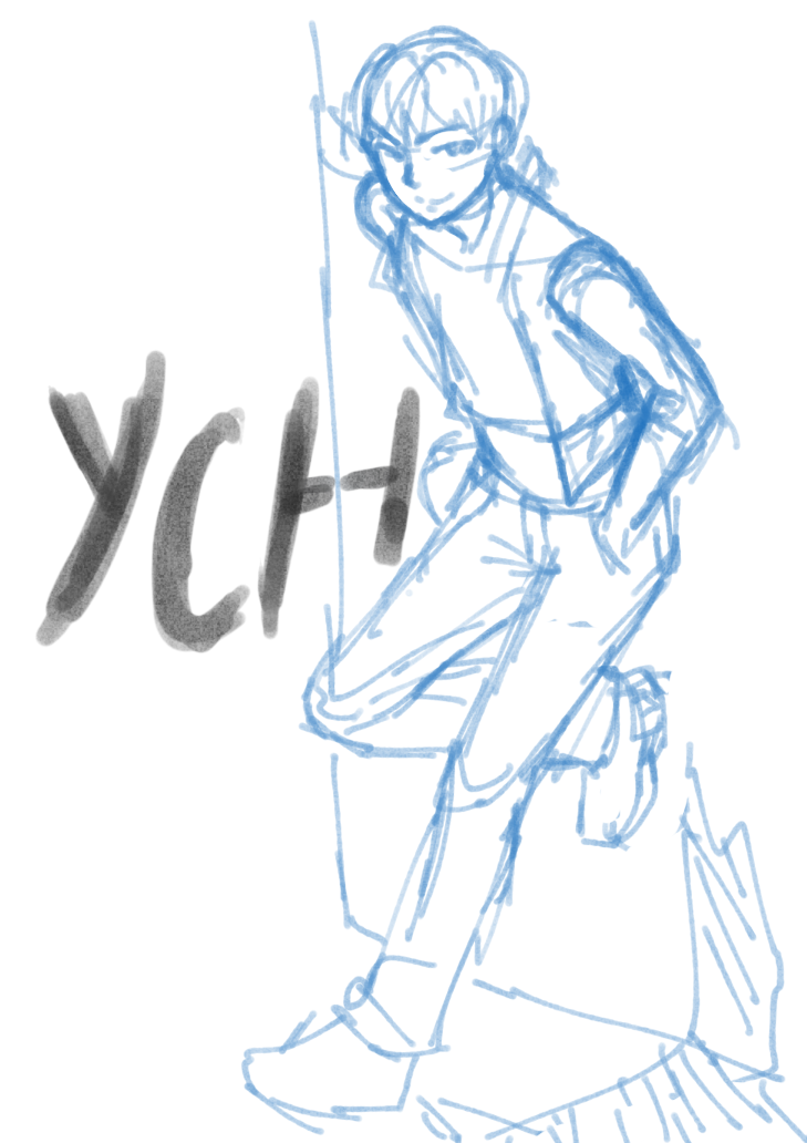 It's just a photo of Rare Leaning Forward Pose Drawing