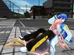 Catch me, Kaito!