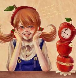 Apple girl by Nayu19
