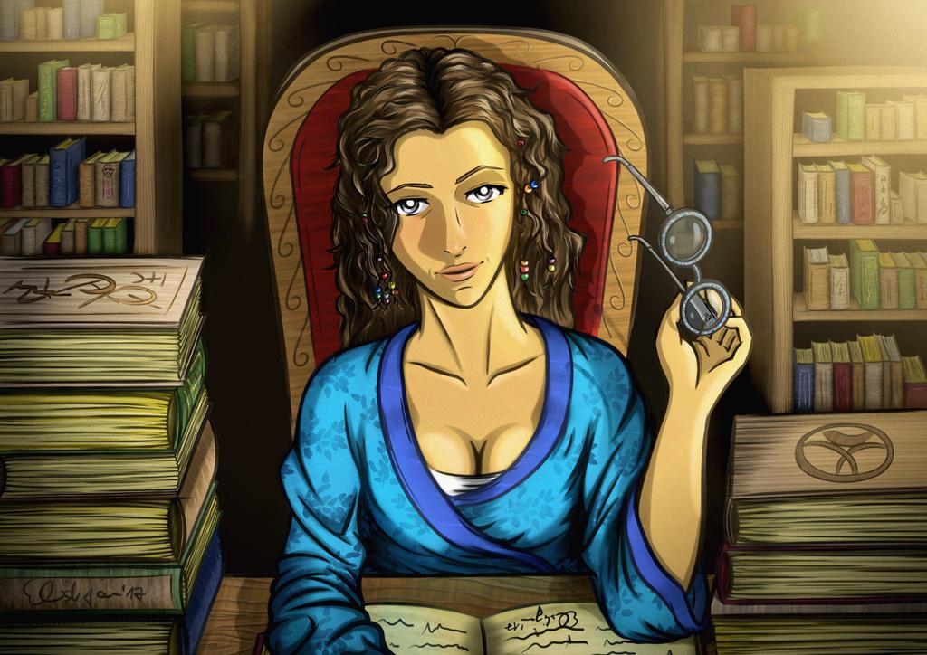 Mystra - Curator of Magic