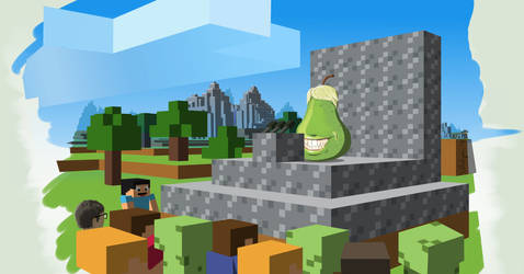 The Biting Pear of Mincraft Press Conference