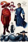 Goblin King Erik and Javert