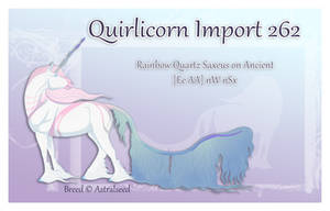 Quirlicorn Import 262 by x-SWC-x
