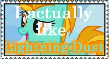 Support Lightning Dust by DrakkenlovesShego12