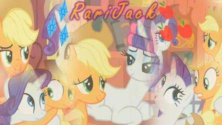 RariJack/AppleRare Wallapaper by DrakkenlovesShego12
