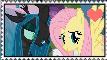FlutterLis Stamp by DrakkenlovesShego12