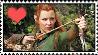 Tauriel Stamp by DrakkenlovesShego12