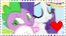 Sparity Stamp by DrakkenlovesShego12