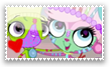 Vinnie and Minka stamp by princessforever14