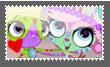 Vinnie and Minka stamp by princessforever14