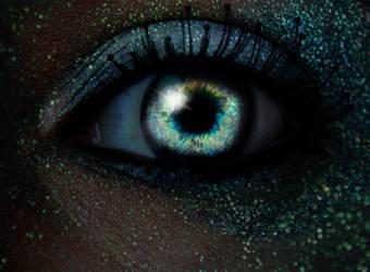 Glow In the Dark (glitter manip) by LorixLisa
