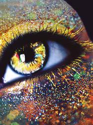 Eye - Yellow Mellow! by LorixLisa