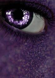 Eye Manip - Deep purple stare by LorixLisa