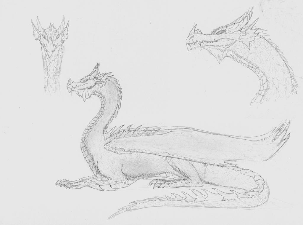 --SoC-- Dragon by silveraquila