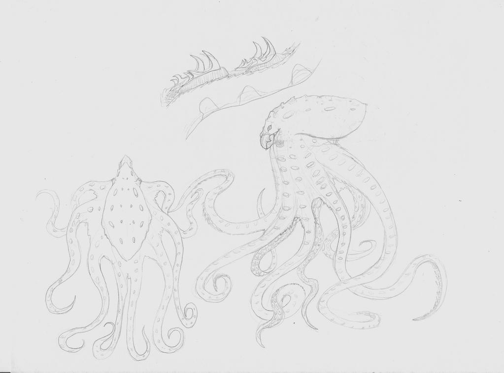 --SoC-- Kraken by silveraquila