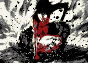 Luffy Rage by fando01