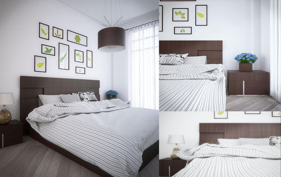 Scandinavian Bedroom by gil251998 on DeviantArt