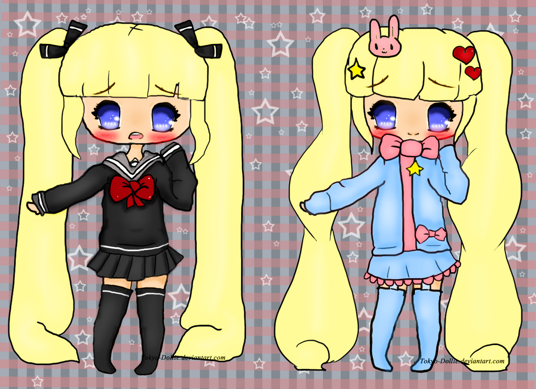 Most  favorite outfits on Kikiyo by Tokyo-Dollie