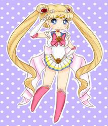 Chibi Sailor Moon FanArt - Commission by Tokyo-Dollie