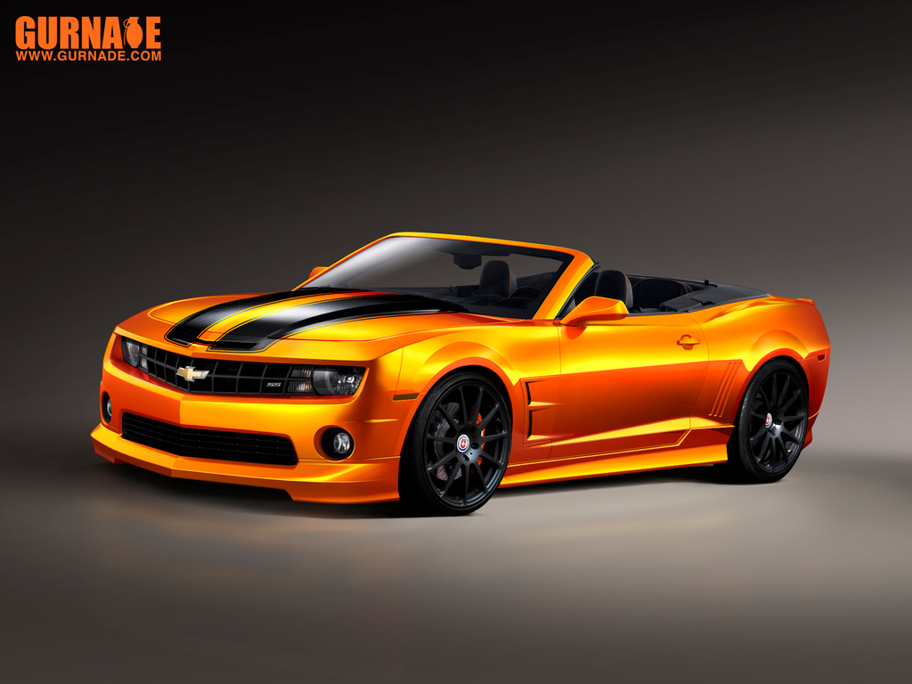 Convertible Chevrolet Camaro by svennardten-design