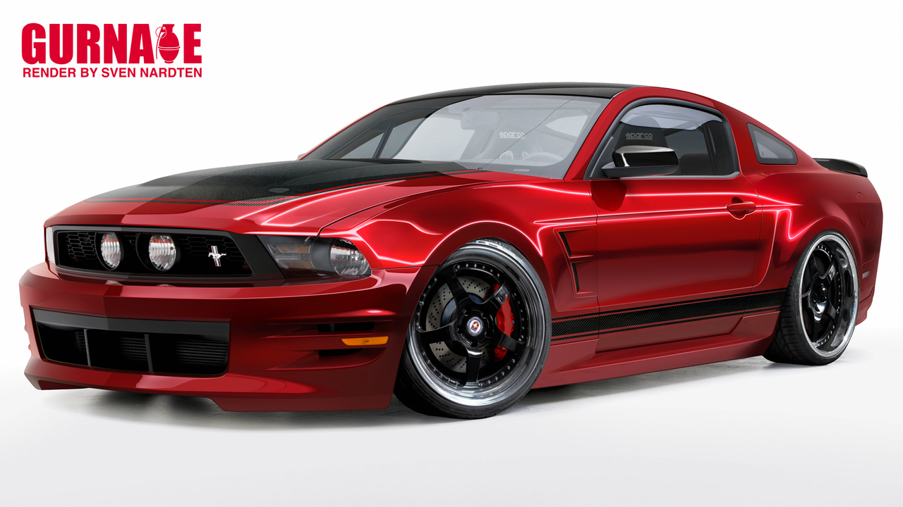 Boy Racer Mustang - Build irl by svennardten-design