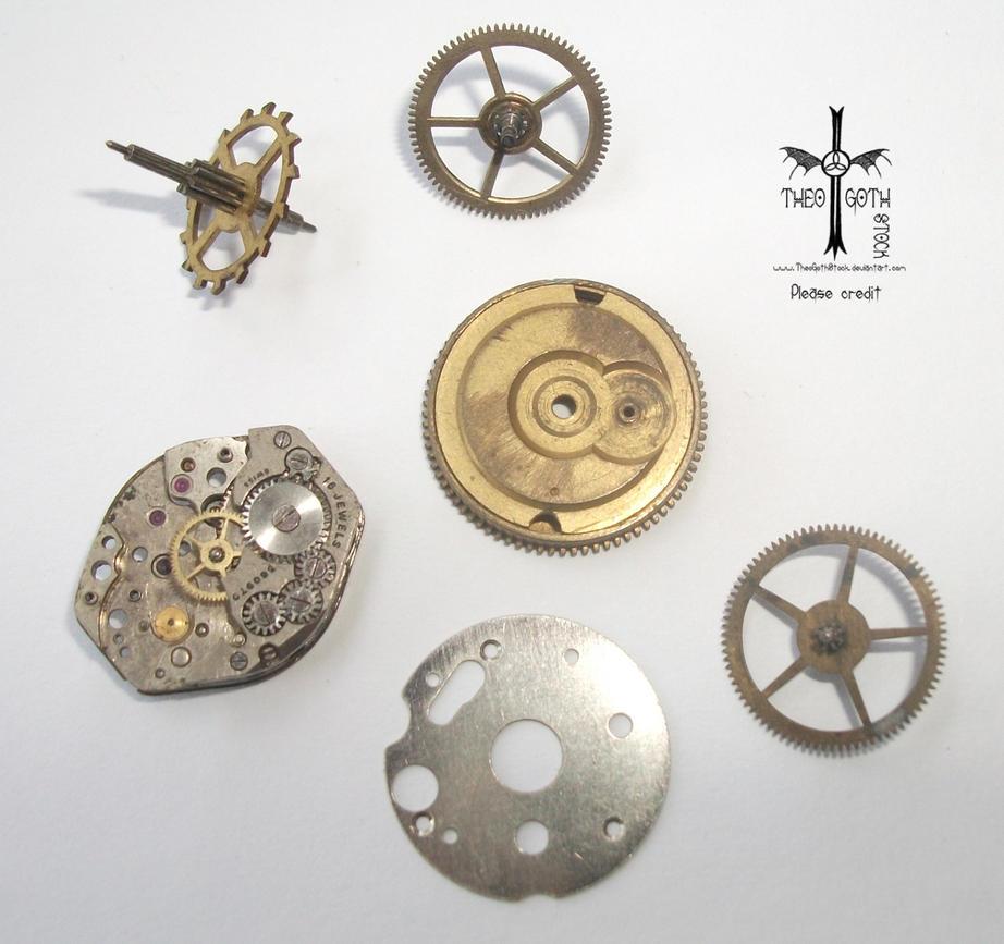 Watch wrist parts - Wristwatch Parts By Theogothstock
