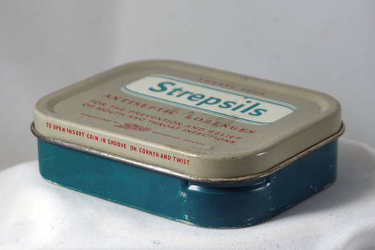 Strepsils Tin