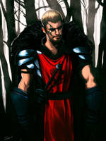 Medieval warrior by overdrivezero