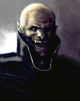 Orc smiling