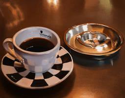 Caffe espresso by overdrivezero
