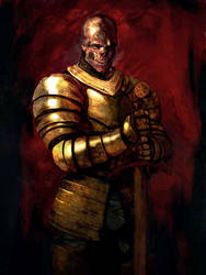 Undead knight by overdrivezero