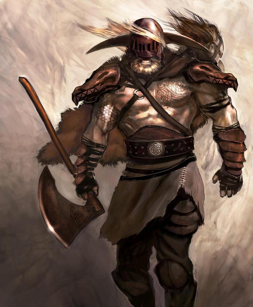 Berserk Viking by overdrivezero