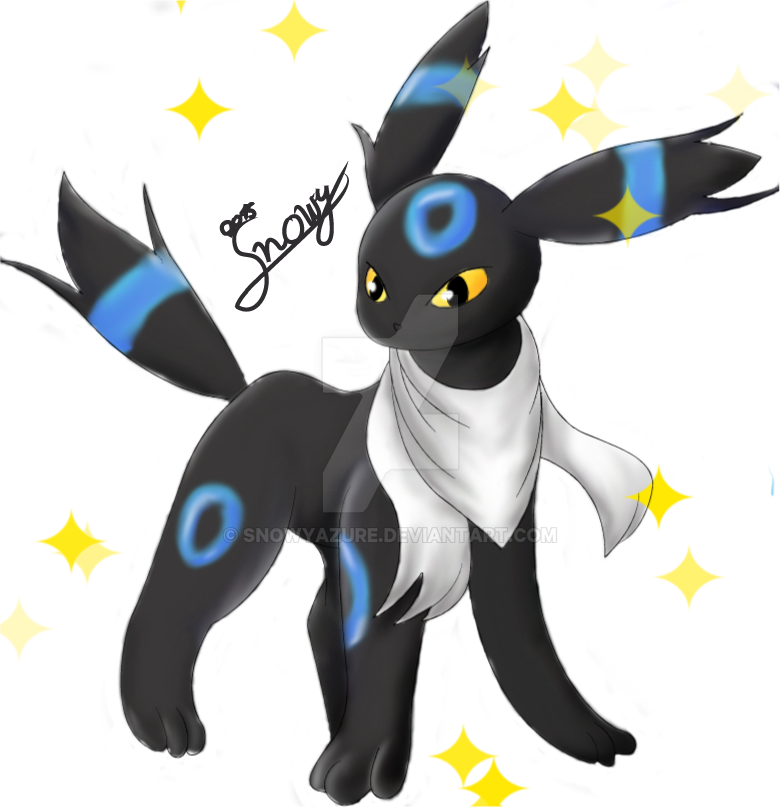 Noctali shiny shiny umbreon oc by snowyazure on deviantart - Pokemon noctali ...