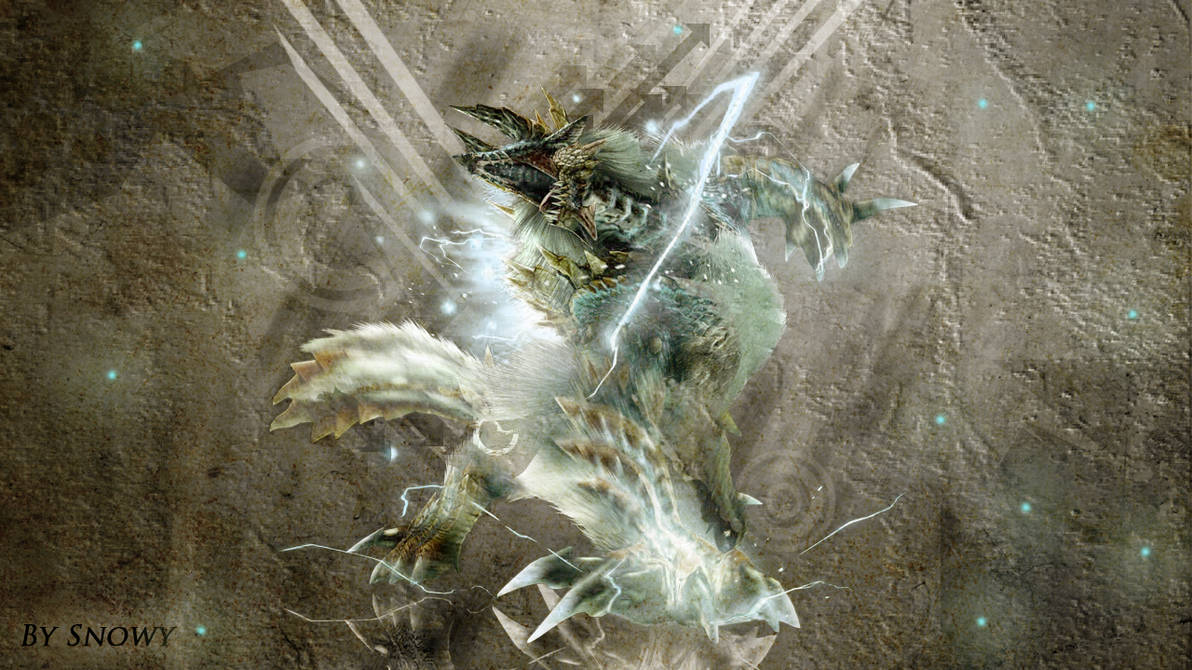 Mh4u Zinogre Wallpaper The Galleries Of Hd Wallpaper