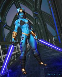 Luna Crel Jedi by Necrella