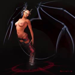 Black Demon by Necrella