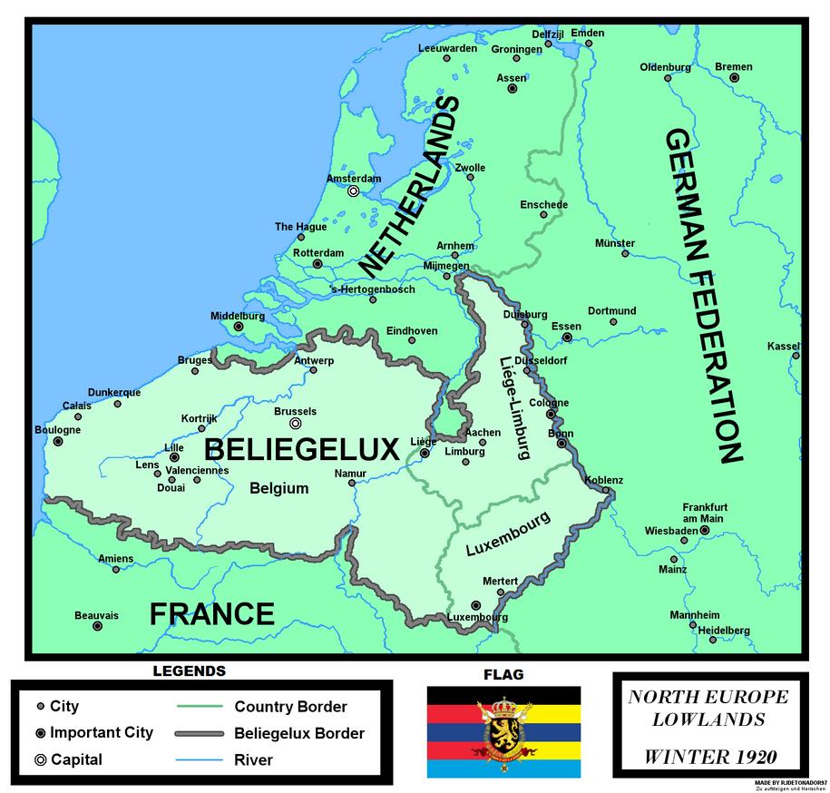 beliegelux map by rjdetonador97