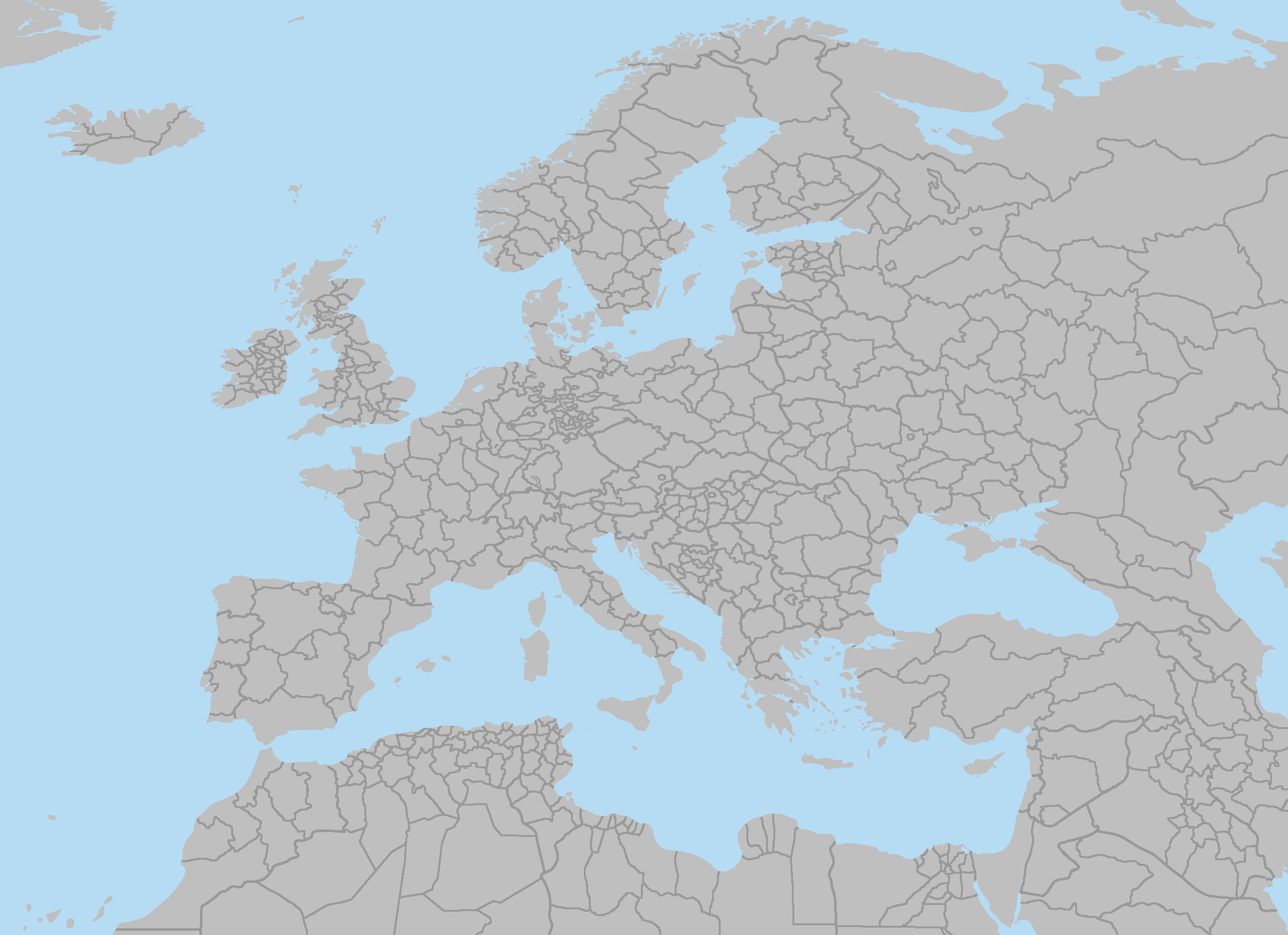 map of europe with subdivisions Europe 2152   Subdivisions by RJDETONADOR97 on DeviantArt