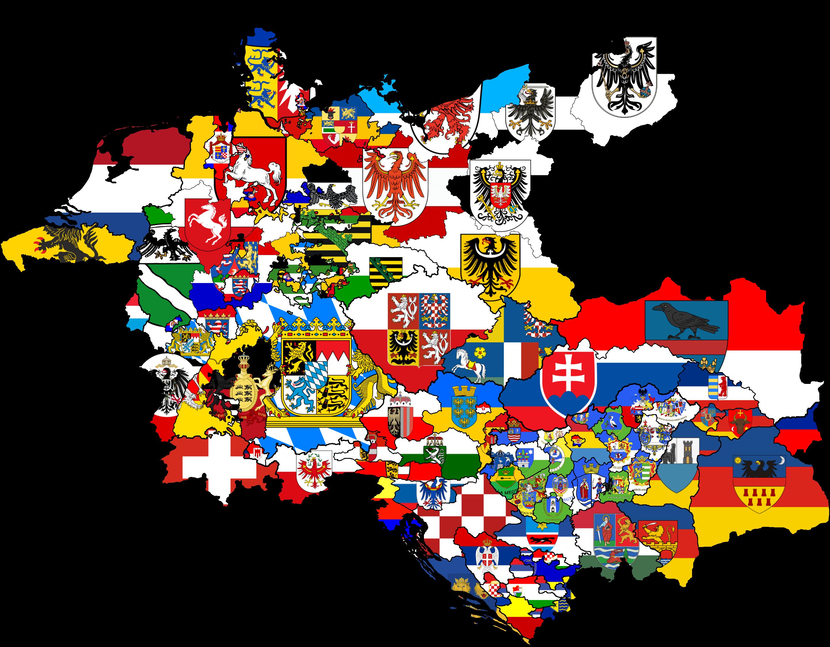 Germany States Flag Map Earth Empire By Rjdetonador97 On Deviantart