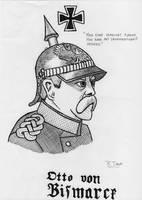 Inktober - Otto von Bismarck by RJDETONADOR97