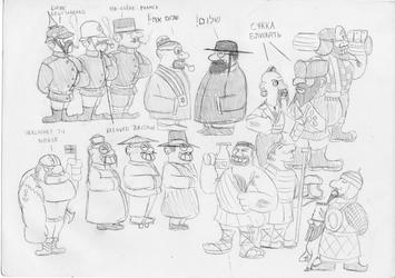Sketch 33 - Funny Stereotypes by RJDETONADOR97