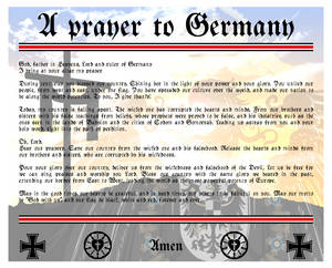 A prayer to Germany