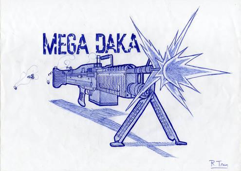 Mega Daka Machine Gun