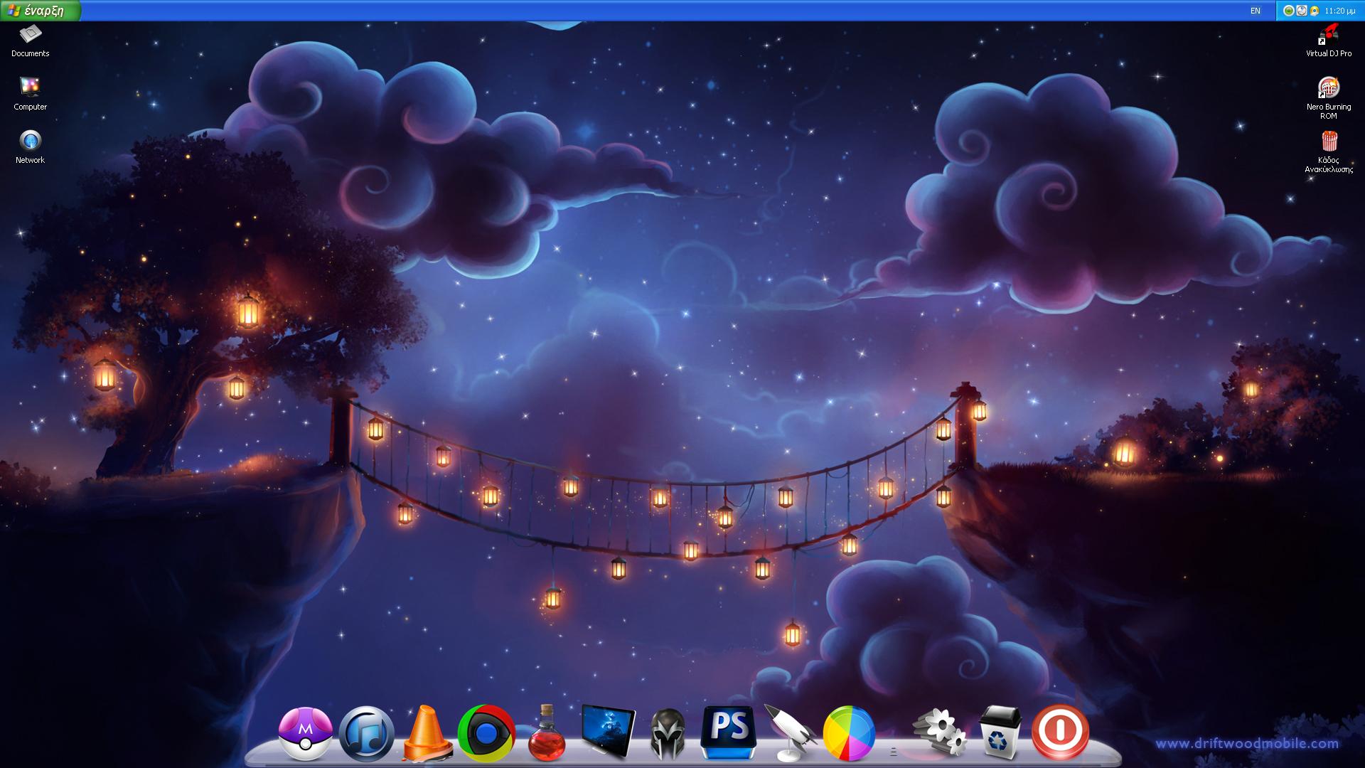 Desktop April 2012 by DjLuigi
