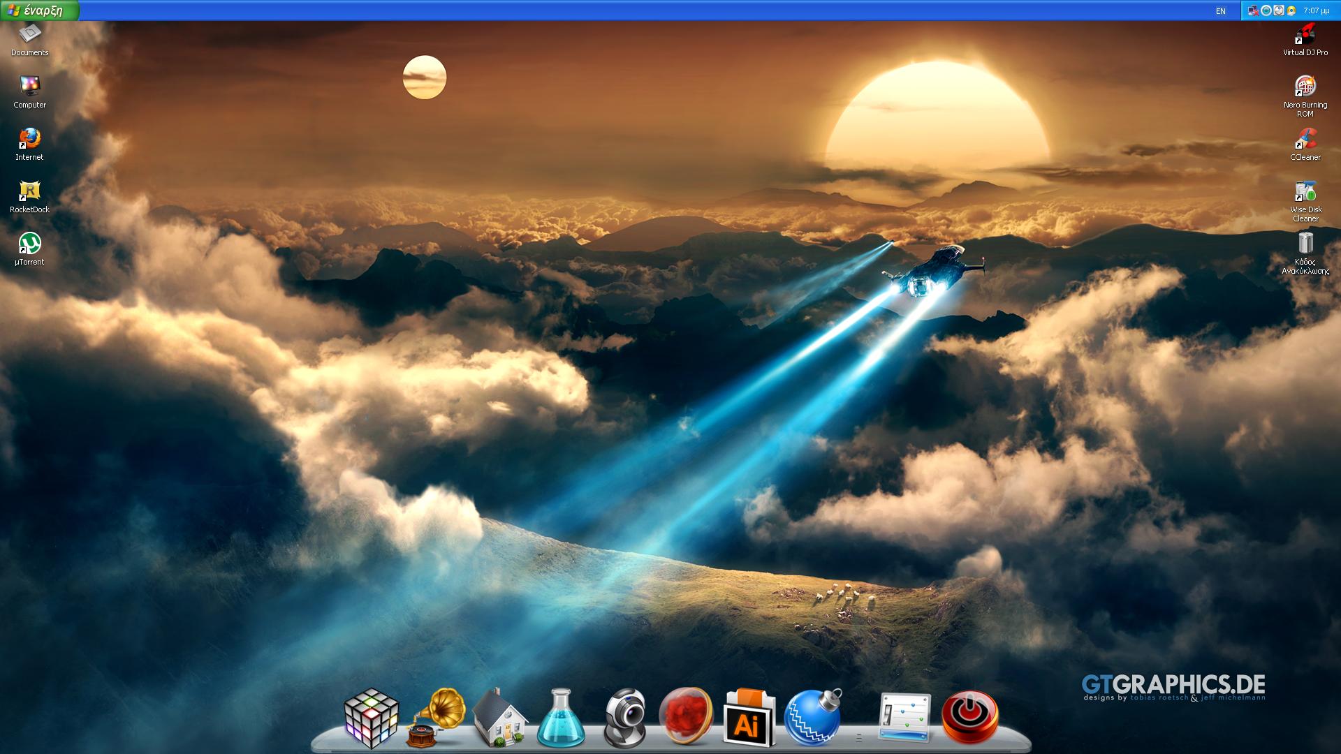 Desktop June 2013 by DjLuigi
