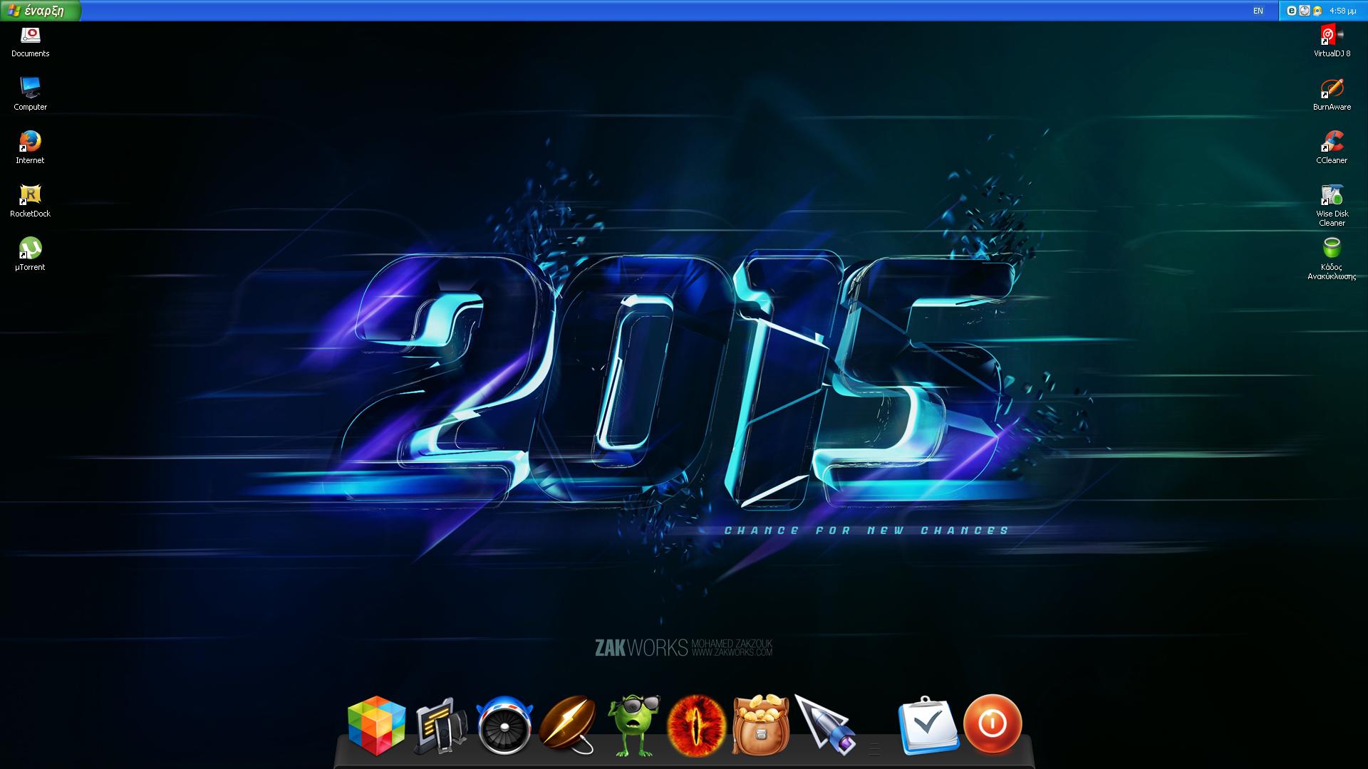 Desktop February 2015 by DjLuigi